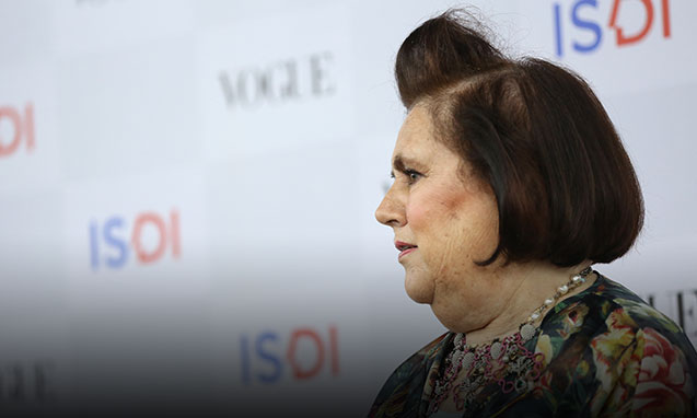 International Editor Vogue Suzy Menkes: ISDI