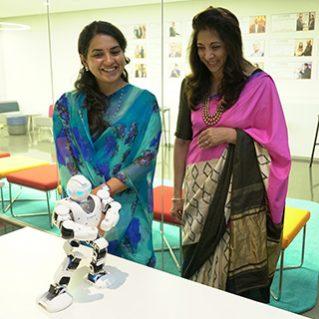 Shaina NC at ISDI Mumbai