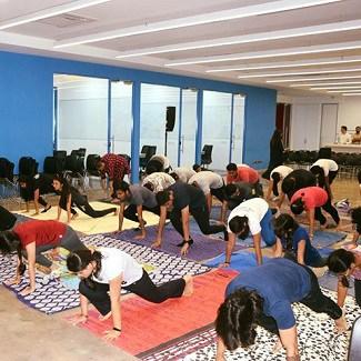 International Yoga Day at ISDI