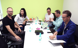 Parsons Faculty Visits ISDI for Academic Review