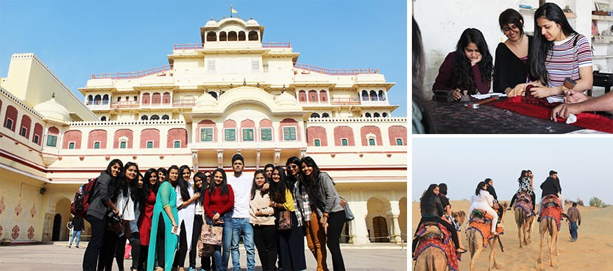 Interior Design study trip to Rajasthan
