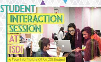 Student Interactive Session at ISDI