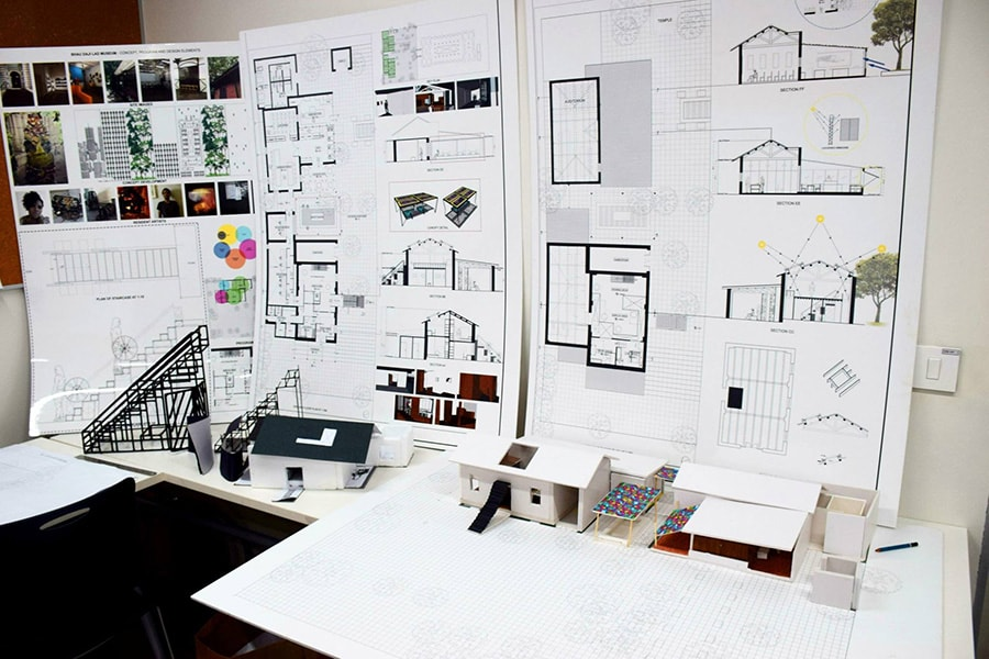 how to make money as an architecture student